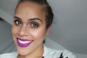 Dewy Skin with MAC Heroine Lipstick
