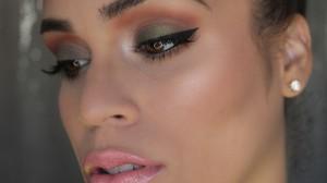Smokey Green Eye tutorial
