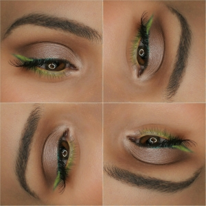 Here's the look on a fun grid!